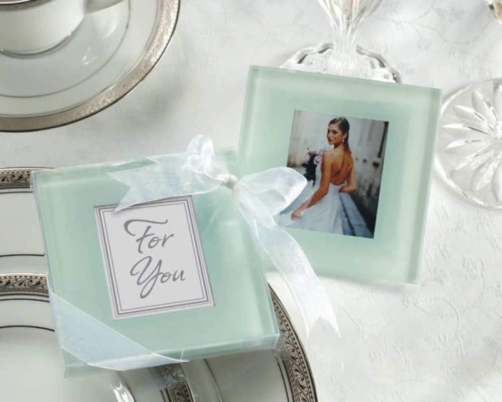 Wedding, Engagement Bomboniere Favours : Forever Photo Frosted Glass ...